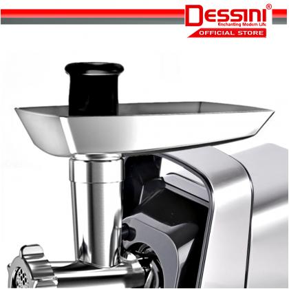 DESSINI ITALY 3000W Stainless Steel Electric Meat Grinders Sausage Maker Stuffer Blender Chopper Mixer Mincer / Pengisar